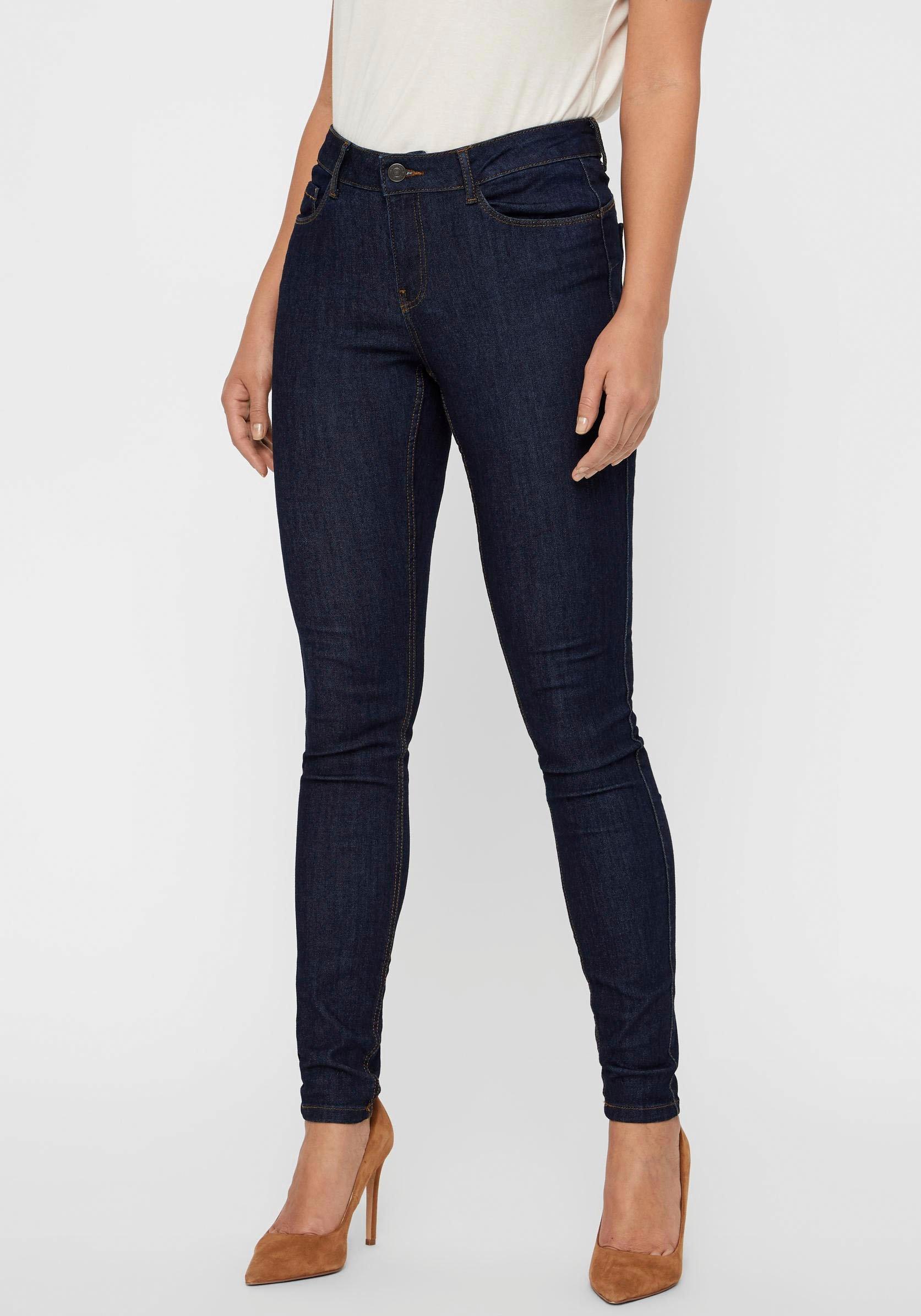 Vero Moda skinny fit jeans VMSEVEN SHAPE UP voordelig en veilig online kopen