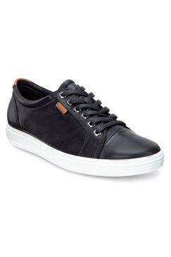 ecco sneakers met merk zwart