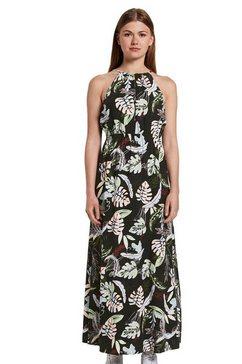 tom tailor denim jurk in haltermodel multicolor