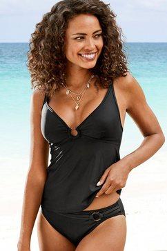 s.oliver beachwear tankinitop »rome« zwart