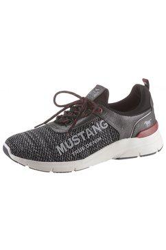 mustang shoes sneakers met een opvallende logoprint grijs