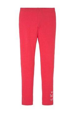 tom tailor legging met kleine print roze