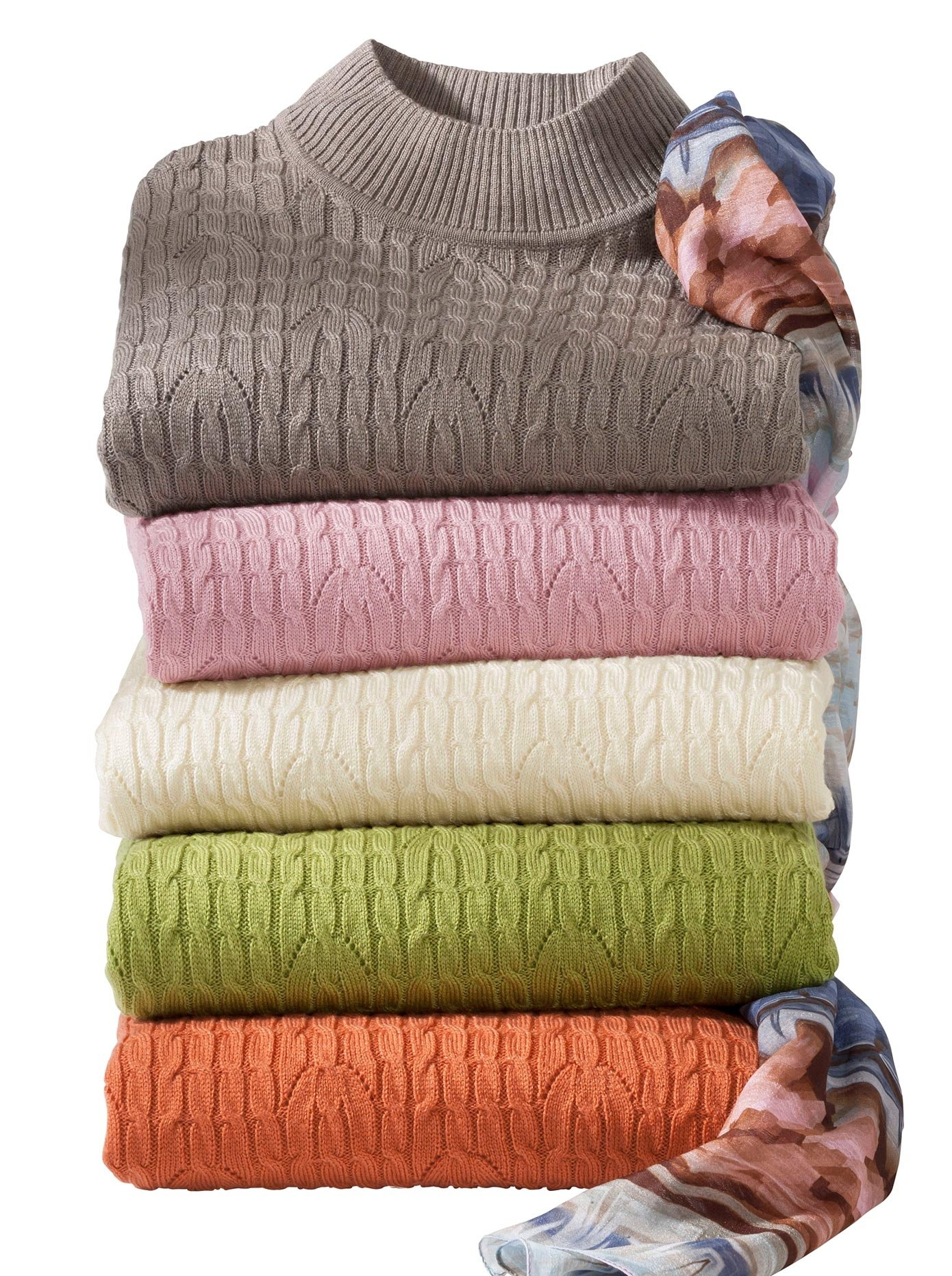 Casual Looks trui met staande kraag Trui in de webshop van OTTO kopen