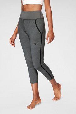 puma yogatights studio rib jogger grijs