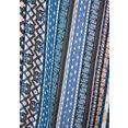 lascana zomerjurk met grafische print blauw