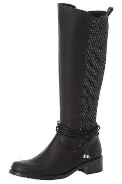 rieker laarzen zwart