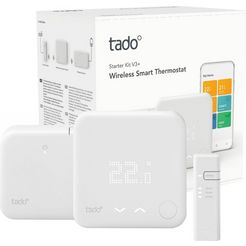 tado smart-home starterset wireless smart thermostaat v3+ wit
