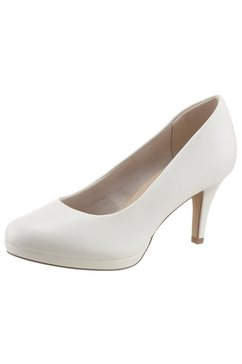 tamaris pumps »jessa« wit