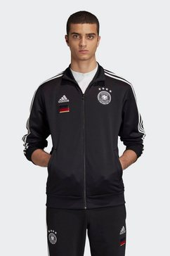 adidas performance trainingsjack »dfb 3 stripes track top« zwart