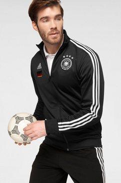 adidas performance trainingsjack »dfb 3 stripes track top« zwart