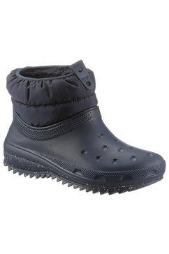 crocs snowboots blauw