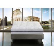 magniflex comfortschuimmatras memory top air massage hoogte 25 cm wit