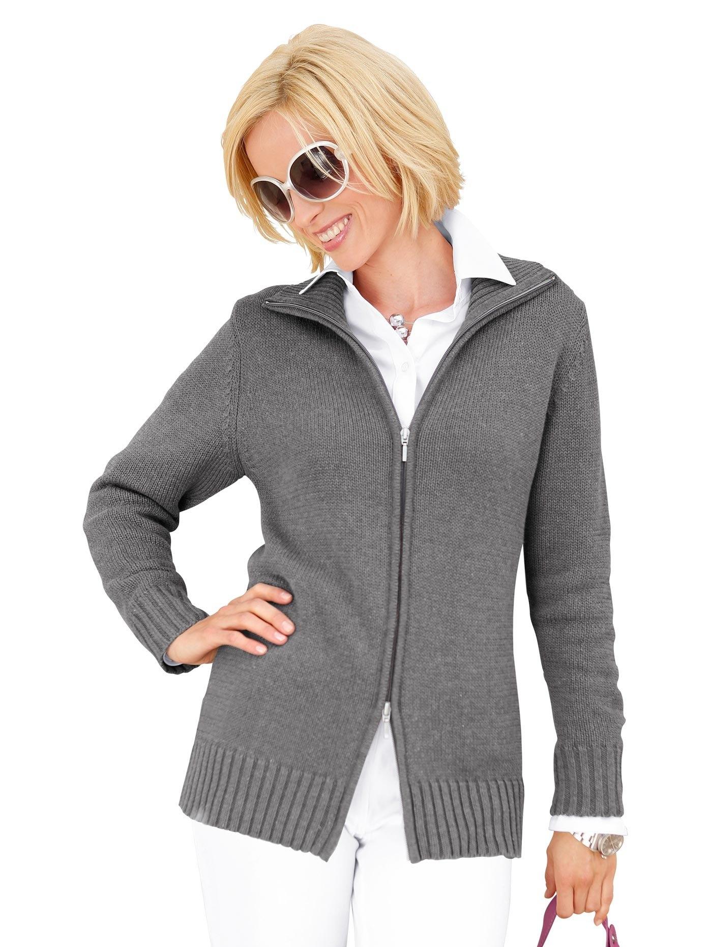 Casual Looks vest in comfortabele materialenmix goedkoop op otto.nl kopen