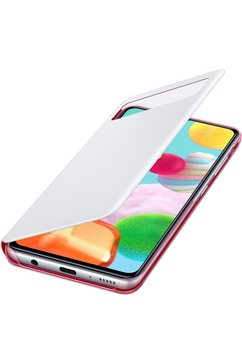 samsung smartphonehoesje s view wallet cover ef-ea415 galaxy a41 wit