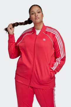 adidas originals trainingsjack »superstar tracktop« roze