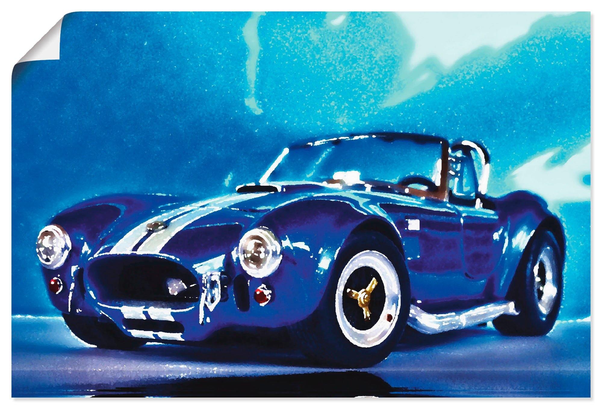 Artland artprint Shelby Cobra in vele afmetingen & productsoorten - artprint van aluminium / artprint voor buiten, artprint op linnen, poster, muursticker / wandfolie ook geschikt voor de badkamer (1 stuk) nu online bestellen