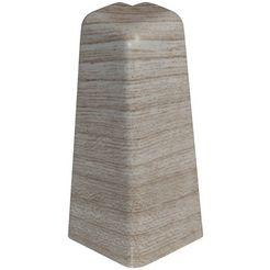 egger hoek aan de buitenkant »eiche mittelgrau«, voor plinten van 6 cm, 2 stk grijs