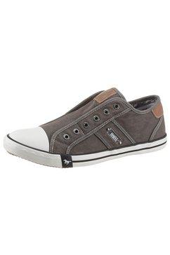 mustang shoes instappers om zo aan te schieten grijs
