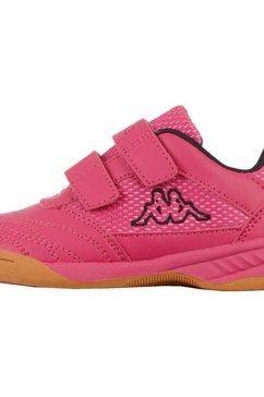 kappa zaalschoenen kickoff oc kids geschikt voor zaalvloer roze