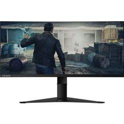 "lenovo curved-gaming-monitor g34w-10 (g193403g0), 86 cm - 34 "", uwqhd zwart"