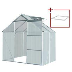 konifera set: tuinkas »florenz«, bxdxh: 190x130x195 cm, 4 mm
