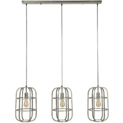 salesfever hanglamp »emilio« zilver