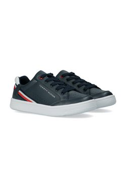 tommy hilfiger sneakers blauw