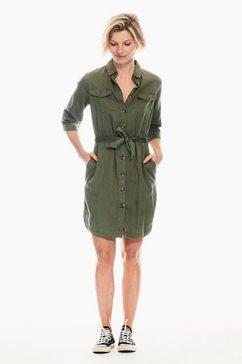 garcia jurk in a-lijn groen