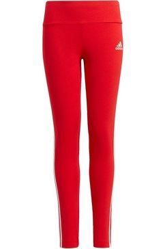 adidas performance legging 3 stripes tight rood