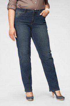 arizona straight jeans »mit bequemen dehnbund« blauw