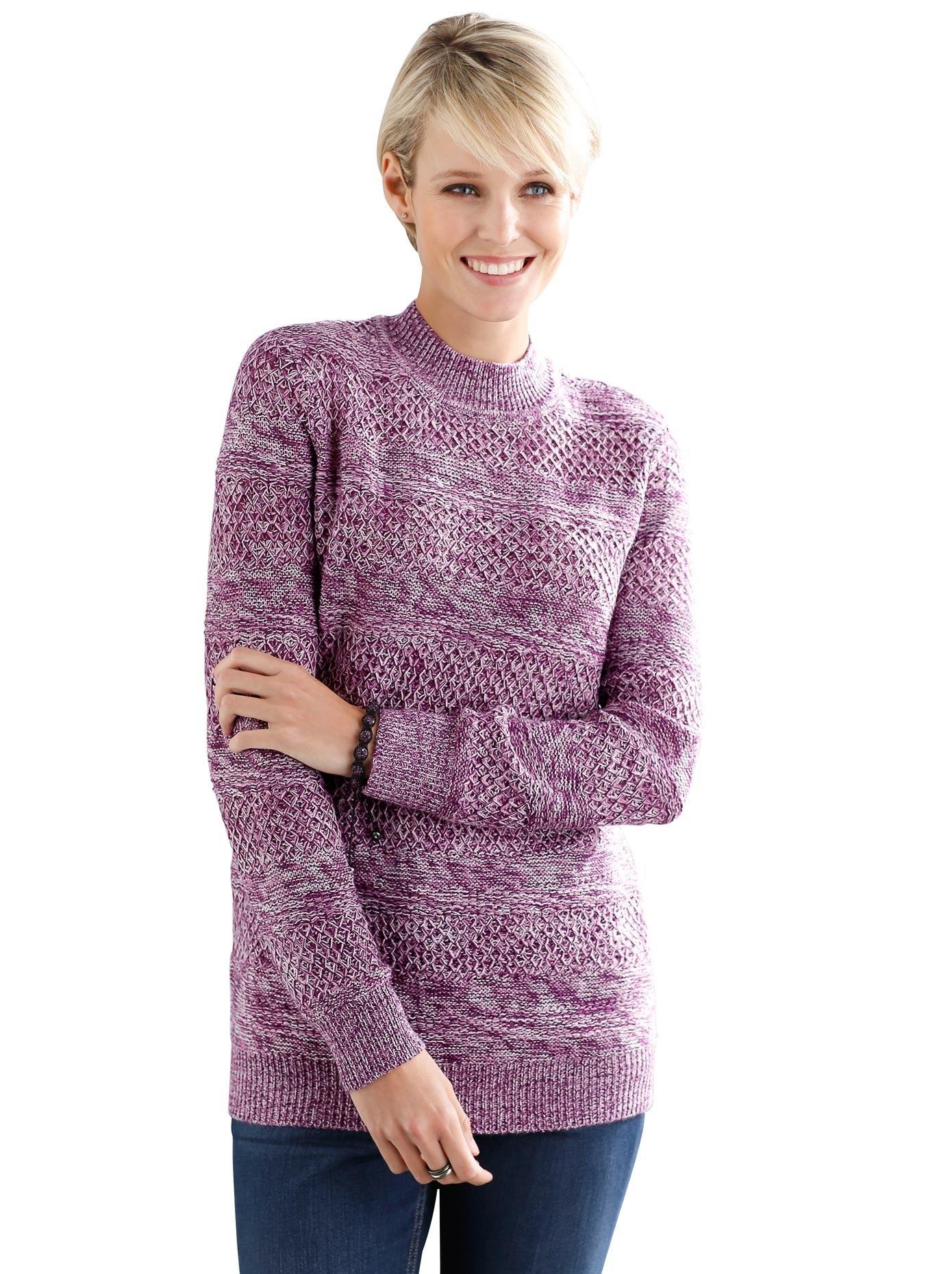 Classic Basics trui met staande kraag nu online kopen bij OTTO