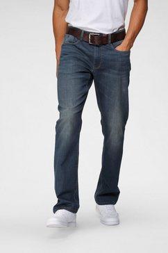 h.i.s comfort fit jeans antin duurzame, waterbesparende productie door ozon wash blauw