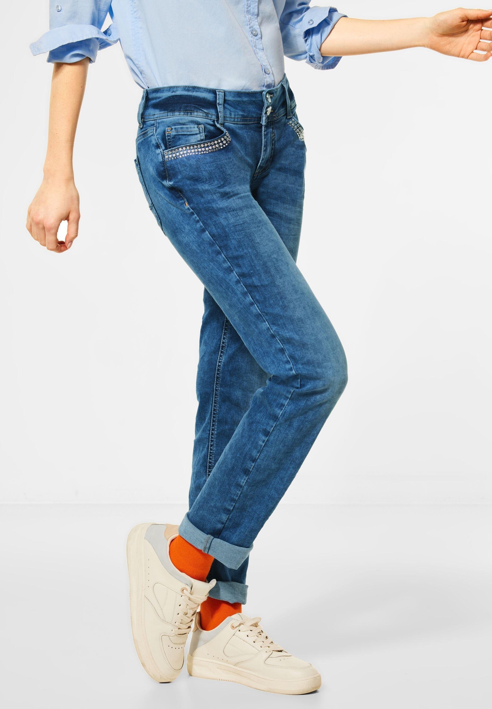 STREET ONE loose fit jeans 5-pocketsstijl nu online bestellen