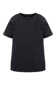 tom tailor t-shirt basic t-shirt van katoen blauw