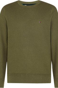 tommy hilfiger trui met ronde hals groen