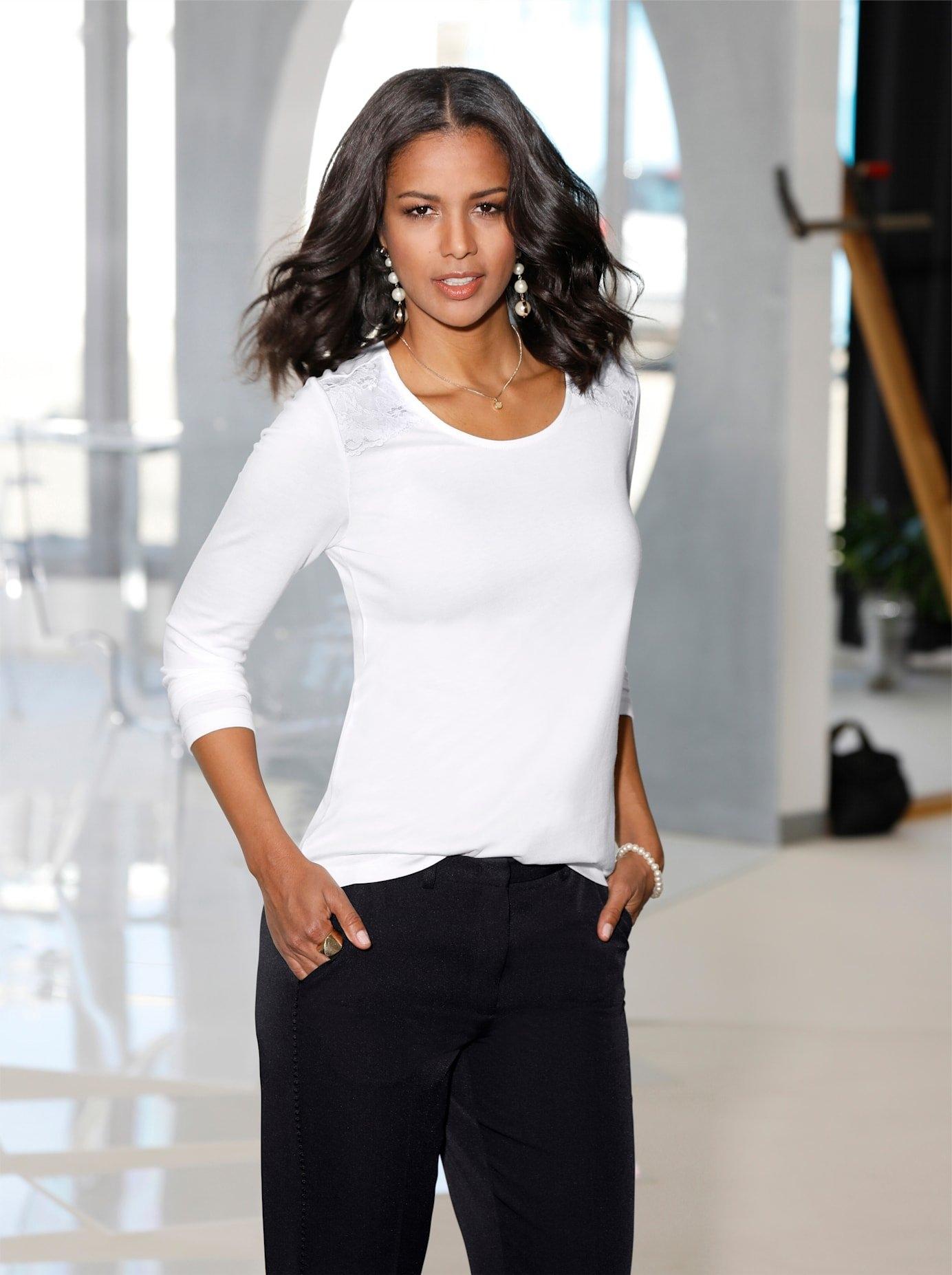 Op zoek naar een Lady shirt met ronde hals? Koop online bij OTTO