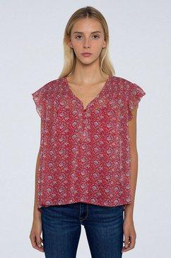 pepe jeans gedessineerde blouse »gabriellas« multicolor