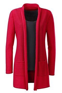ambria vest in klassiek model rood