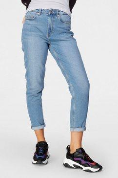 vero moda mom jeans »vmjoana« blauw