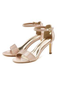 lascana sandaaltjes in tijdloos design beige