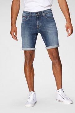 tommy jeans jeansshort »scanton short« blauw
