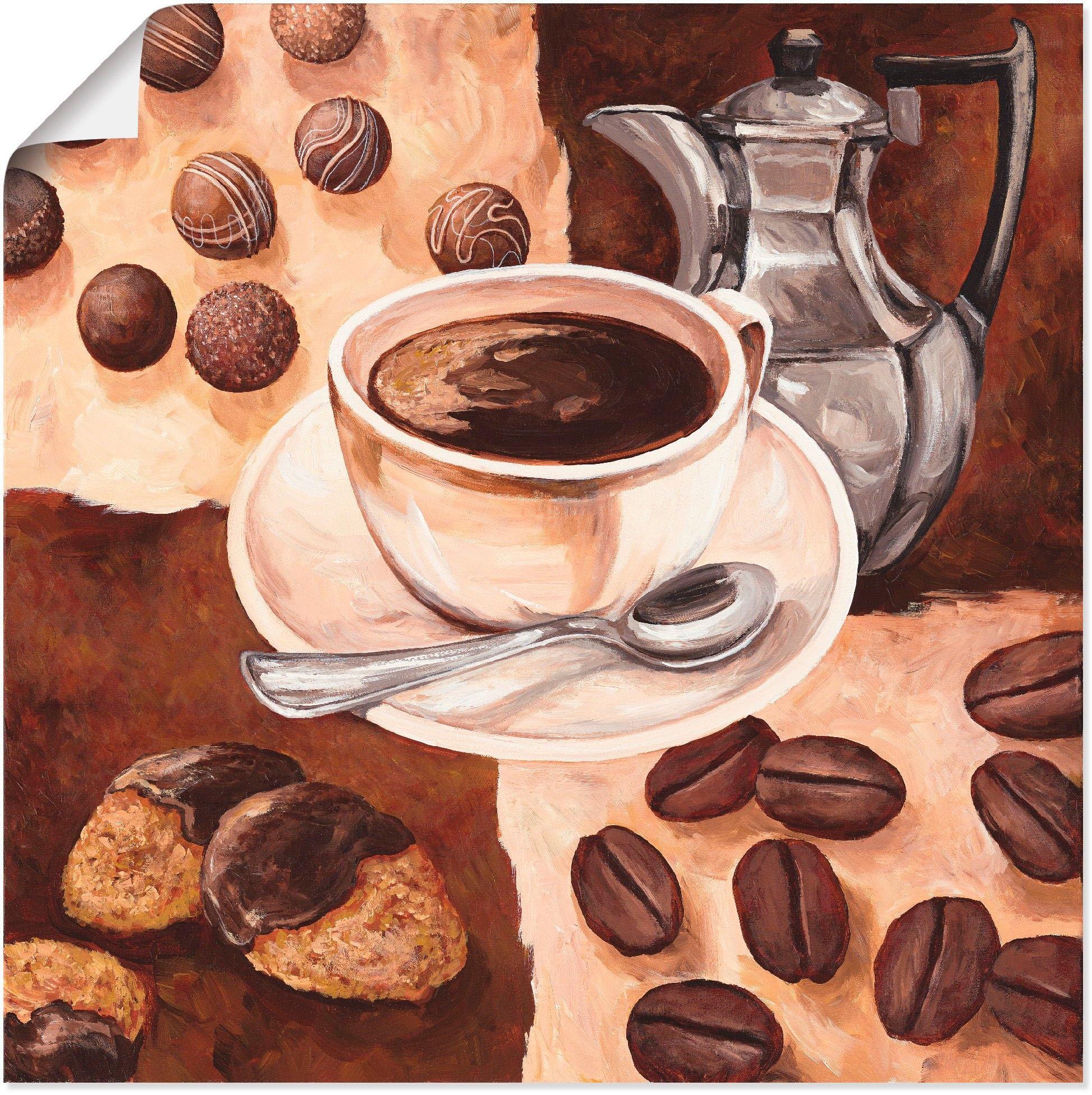 Artland artprint »Kaffeezeit« nu online bestellen
