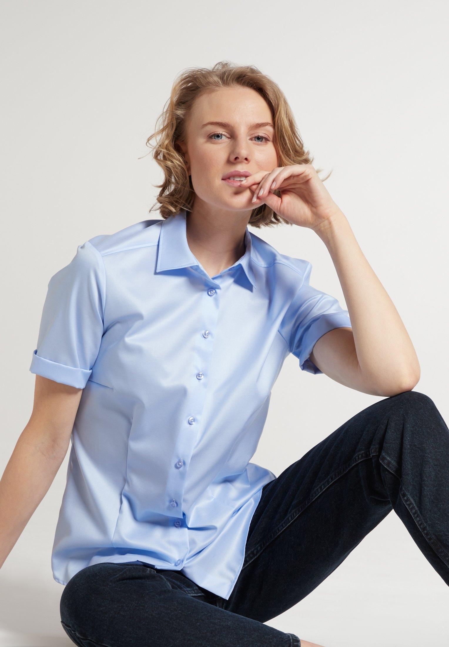 Eterna Blouse met korte mouwen MODERN CLASSIC Korte mouwen voordelig en veilig online kopen