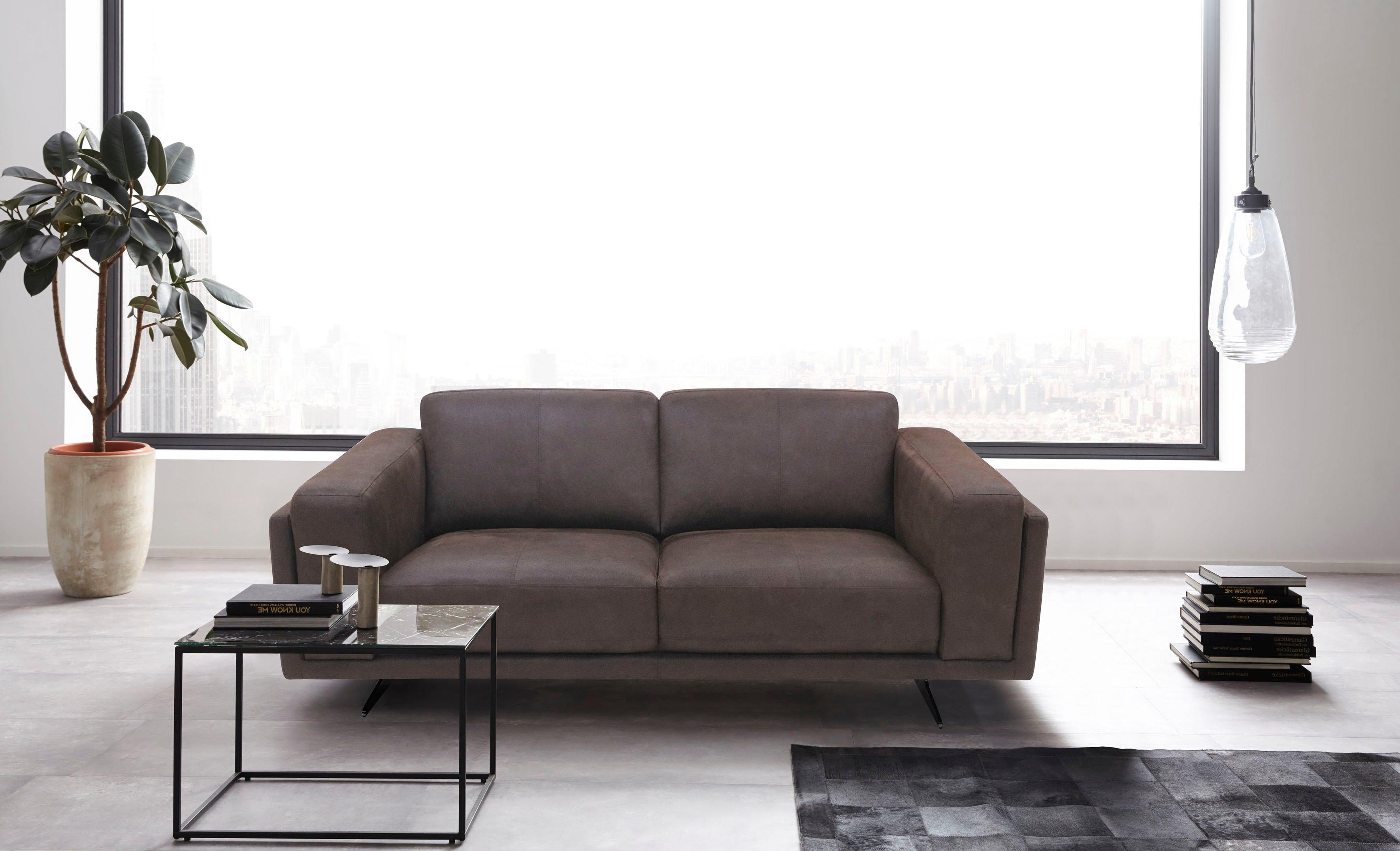 Places of Style 2-zitsbank Randen modern design in twee stofkwaliteiten nu online kopen bij OTTO
