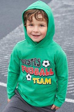 kidsworld shirt met lange mouwen  broek (set, 2-delig) groen