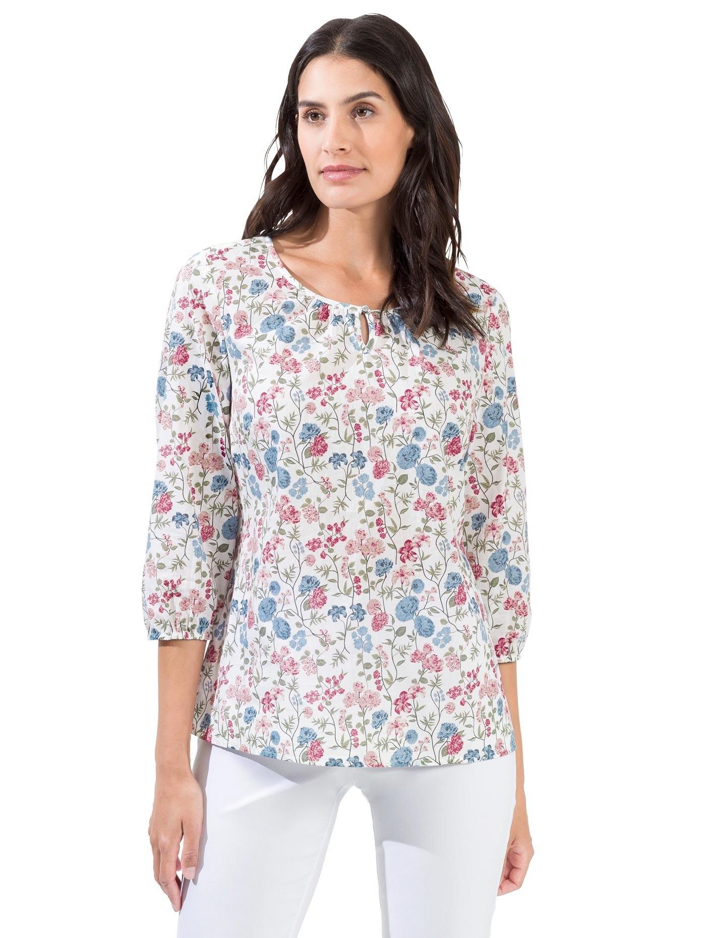 Classic Inspirationen blouse zonder sluiting - verschillende betaalmethodes