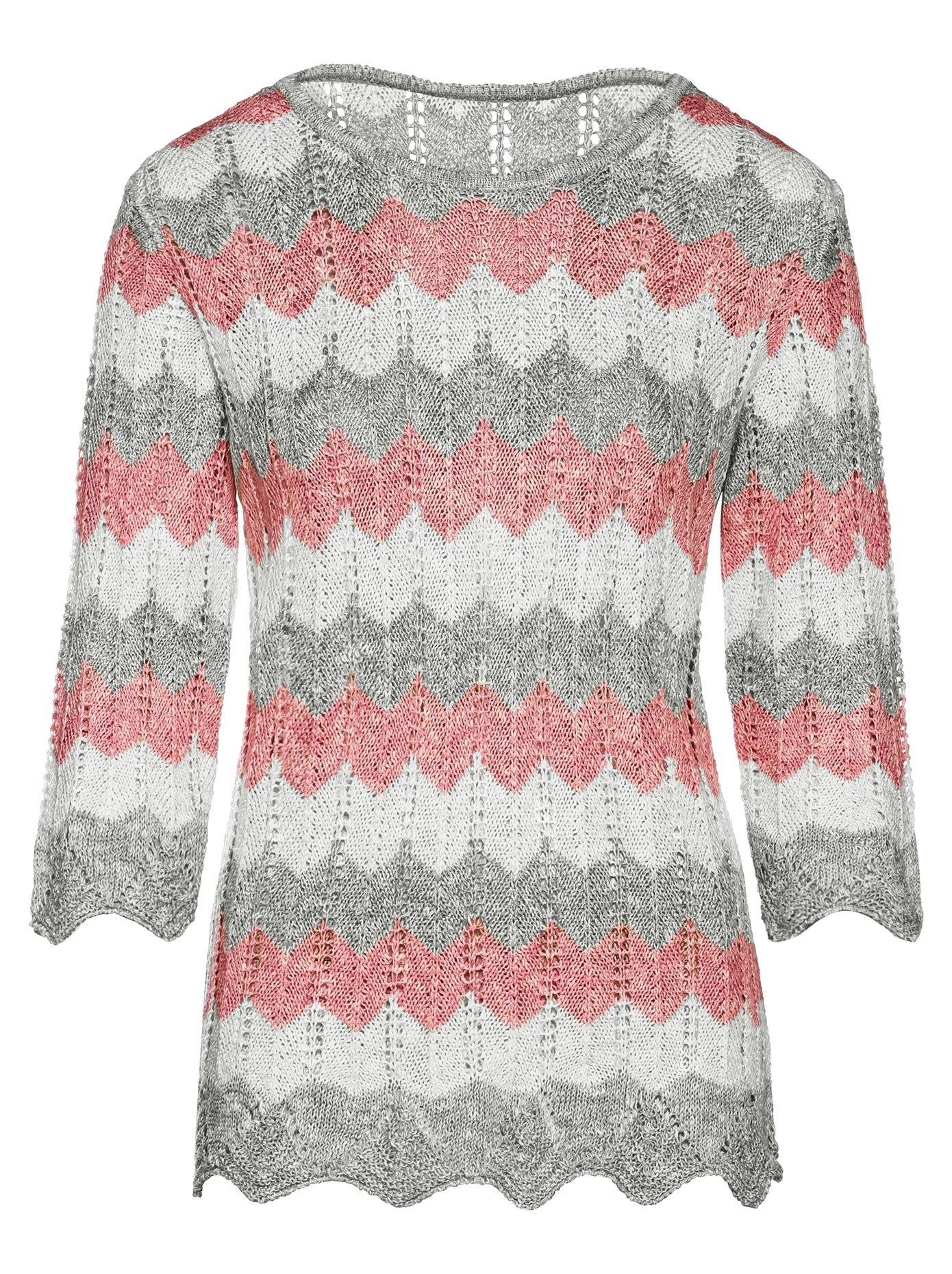 Classic trui met 3/4-mouwen voordelig en veilig online kopen