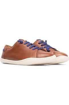 camper sneakers peuc met rubberzool bruin
