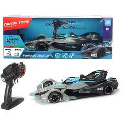 dickie toys radiografisch bestuurbare auto formula e - gen2 car zwart