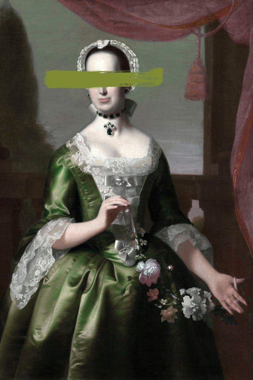 queence Artprint op acrylglas Vrouw - gratis ruilen op otto.nl